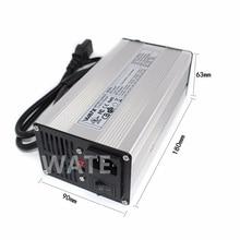 51.1 V 7A chargeur 44.8 V LiFePO4 batterie chargeur intelligent utilisé pour 14 S 44.8 V LiFePO4 batterie haute puissance avec ventilateur boîtier en aluminium