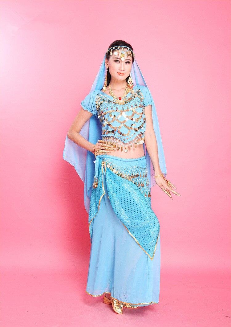 Sexy belly danza india trajes para mujeres ropa de danza india ...