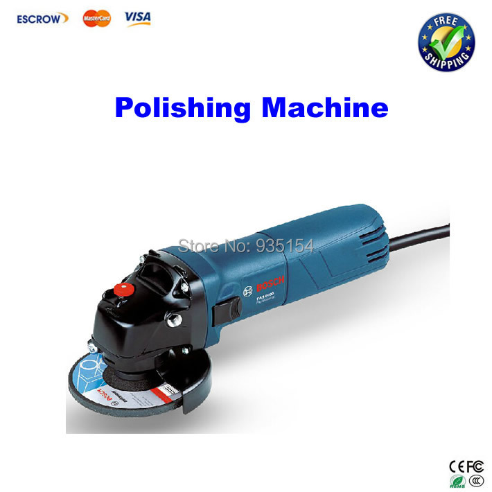 Power tools angle grinder polishing machine metal cutting machine grinding machine angle grinde angle grinder mill cutting machine polishing large scale high power angle grinder machine 125 01