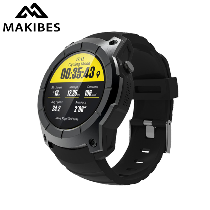 Makibes G05 GPS Sports Smart Watch MTK2503 Answer call alert Heart rate monitor Smartwatch Bluetooth 4.0 multi-sport Smartwatch fitband f4 smart brace sport монитор сердечного ритма спортивный шаг heart rate sleep monitor incoming call alert rose gold