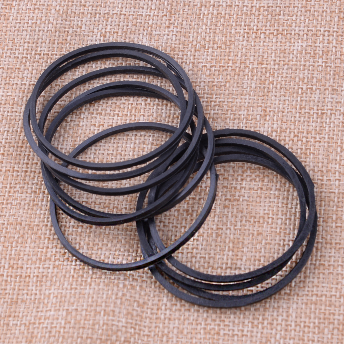 LETAOSK 10pcs Black Rubber Carburetor Fuel Float Bowl Seal Ring Gaskets 693981 280492 Fit For Briggs & Stratton