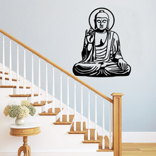 Fashion Buddha Wall Stickers Decorative Sticker Home Decor Removable Decoration Wallpaper vinilo decorativo