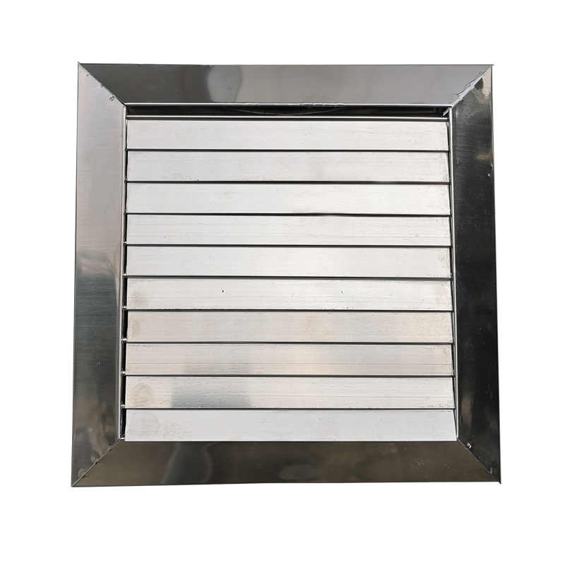 Stainless Steel 201 Gravity Louvers Gravity Shutters 100/150 for Exhaust  Hood Range Hood Exhaust Fan Air Vents Bathroom Outdoor