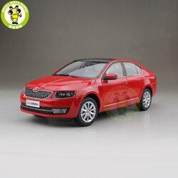 1/18 Octavia 2014 литой под давлением металлический автомобиль модель игрушки для мальчиков и девочек подарок красный цвет