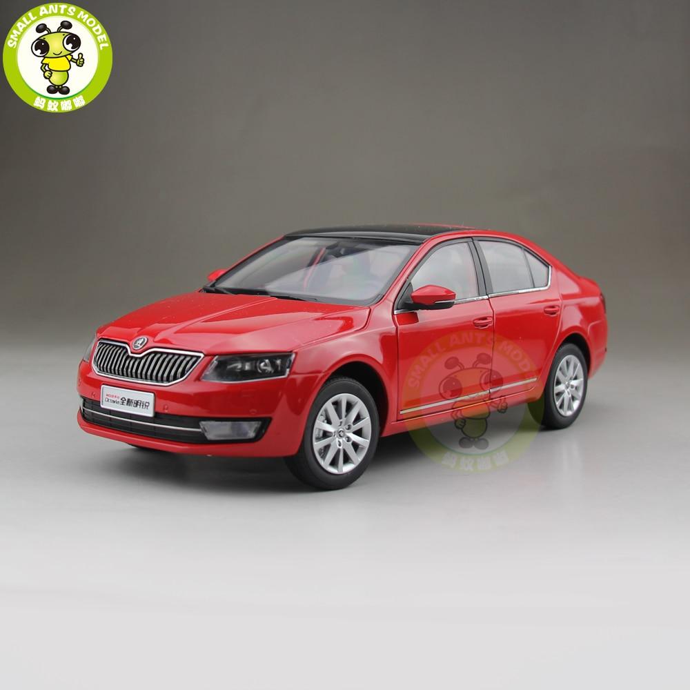 1/18 VW Skoda Octavia 2014 Diecast Metal CAR MODEL Toy Boy Girl gift Red Color эмблема для авто vw original oem vw skoda skoda fabia octavia roomster