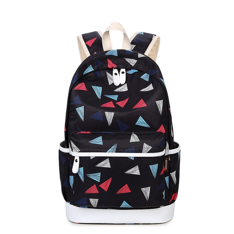 JCPAL Casual Women Backpack School Backpacks Bags Schoolbag For Teenagers Girls Laptop Backbag Travel Bagpack Mochila Feminina