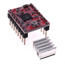 цена на 3D Printer Parts StepStick A4988  Stepper Motor Driver With Heat sink Carrier Reprap RAMPS Reprap 4-layer PCB