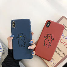 Matte Cute Bear Soft Case For Meizu Pro 6 7 Plus M15 M6T 15 16 Plus Cover For Meizu M3 M5 M5S Note 3 5 6 MX5 MX6 16X Cases m15 plus 6 64gb