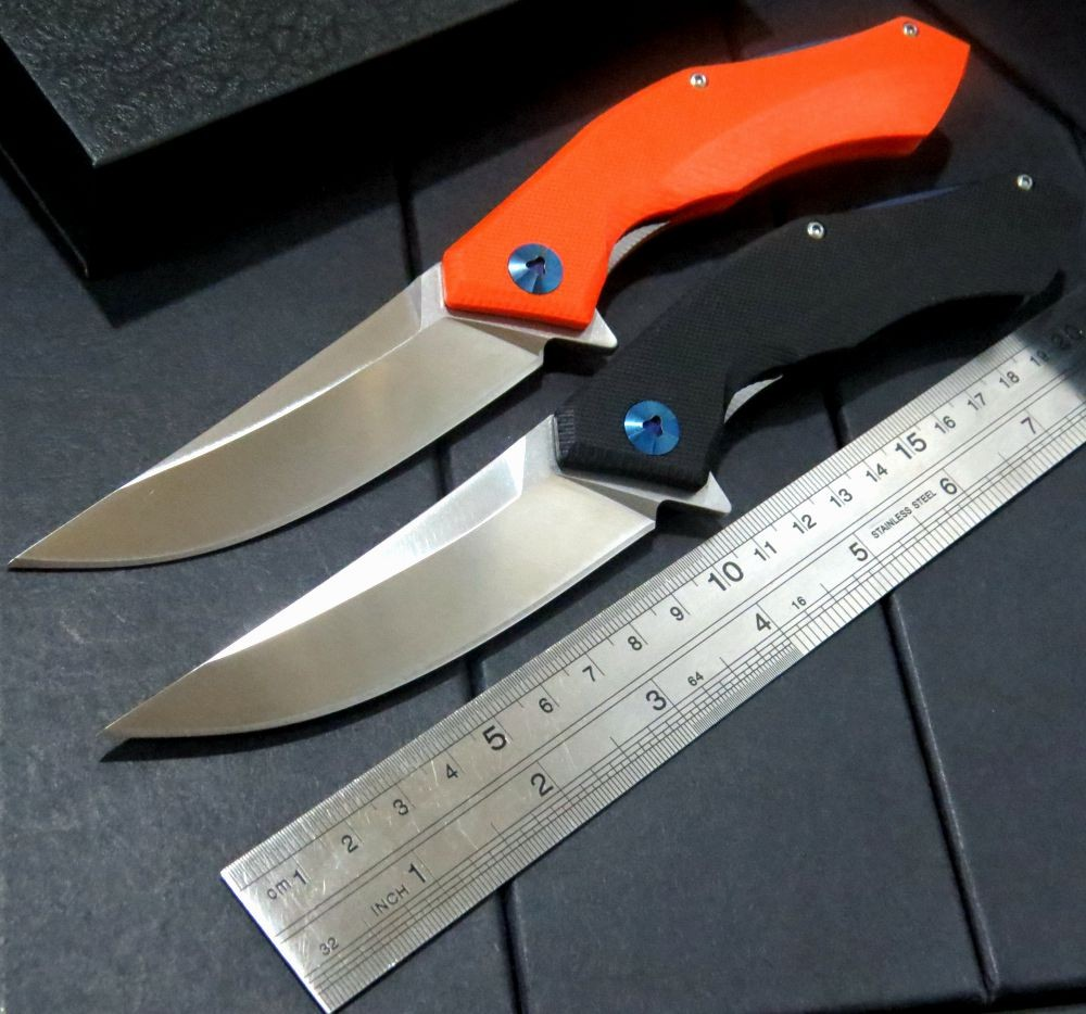 Popular EDC Tools font b Tactical b font Folding font b Knife b font D2 Blade