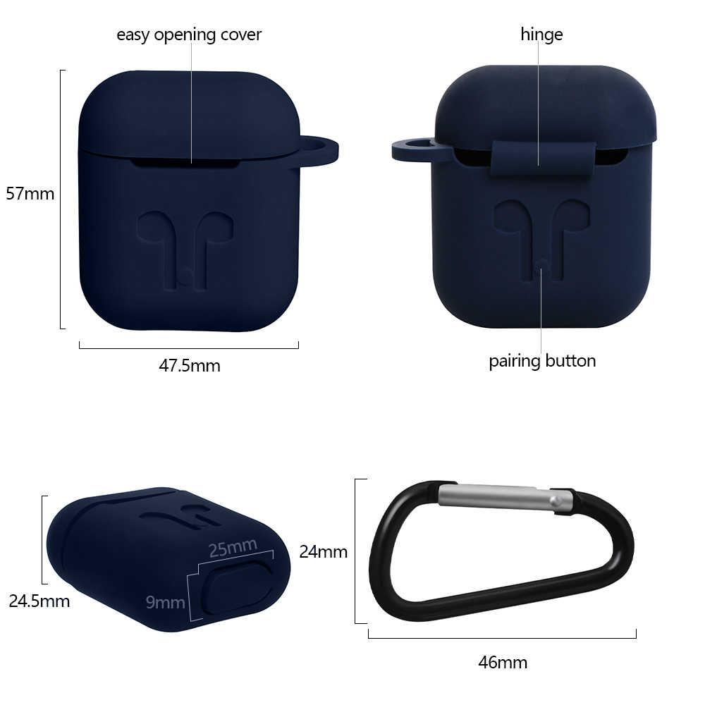 かわいいと素敵なケース airpod 1 2 スキン完全に耐衝撃 Apple の Airpods イヤホン保護ケースカバー防水ケース