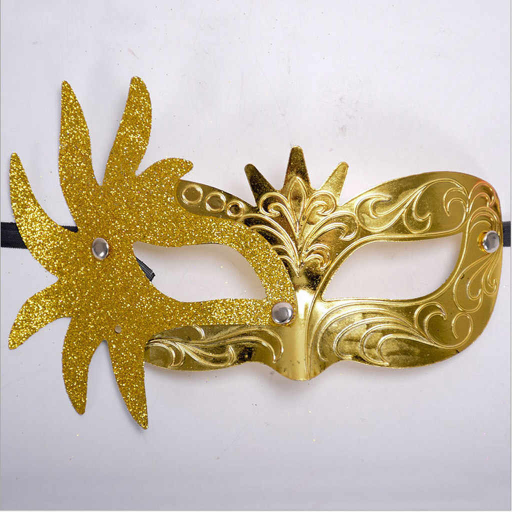 Home&Nest Any Occasional Carnival Mask Venetian Masquerade Masks Mardi Gras Party Costume Festival Party Haloween Discos H0305