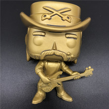 AOSST Exclusive pops Lemmy Kilmister Gold Rainbow Bar Grill Statue Vinyl Figure Collection toy NO BOX
