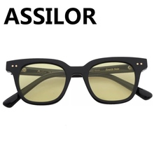Assilor HD Polarized 2018 New Design UV400 Ultraviolet with Colorful  Lenses Women and Men Fashionable Square Frame Sunglasses fashionable women s satchel with zipper and embossing design