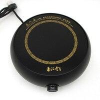 Главная Мини электрические печи специальные электрическая индукционная плита Железный чайник чайный набор для подогрева трения блюдо