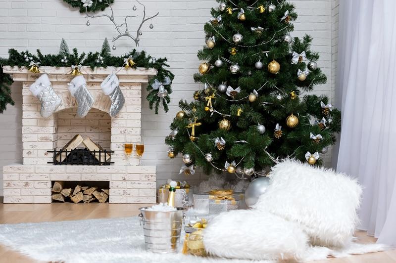 Art Fabric Photography Backdrops Photo Studio Photographic Background For Children Indoor Christmas Tree Backdrop XT-3536 photography backdrops christmas indoor christmas atmosphere 5x7ft 1 5x2 2m studio photo backdrop zj