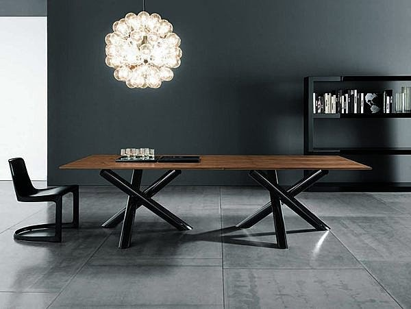American Fashion LOFT Iron Wood Conference Table Dining Table Desk - Old conference table