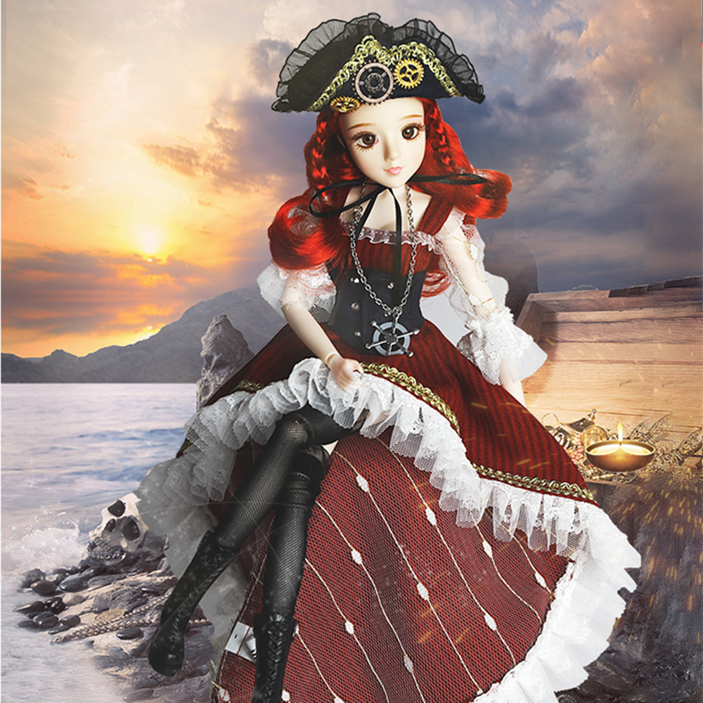 Dream Fairy MMG BJD doll Tarot series The Wheel of Fortune with clothes shoes legging mask