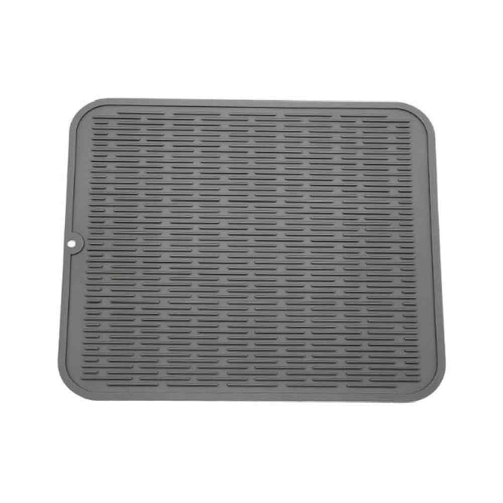 40*50CM Large Multifunctional Silicone Drain Pad Kitchen Drying Mat Silicone Dish Drying Mat