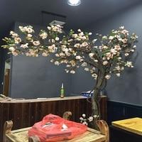 Искусственное дерево Магнолия дерево окно туалетный комнатный гостиная зеленые растения Моделирование бонсай земля искусственные цветы