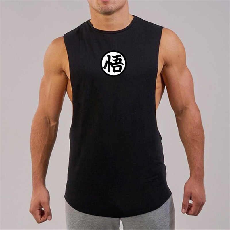 53b9d5fbc219 ... Dragon Ball Tank Tops Men 2019 summer Casual Clothes Fitness Mens  cotton sleeveless shirt Funny muscle ...
