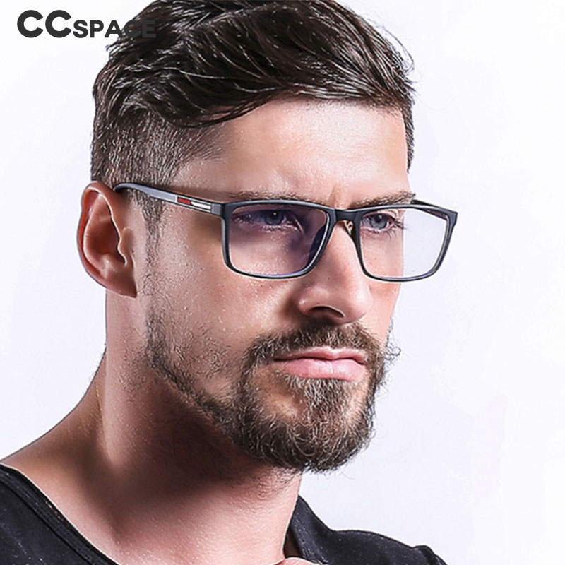 45841 TR90 Anti-blue Light Retro Glasses Frames Men Women Optical Fashion Computer Glasses