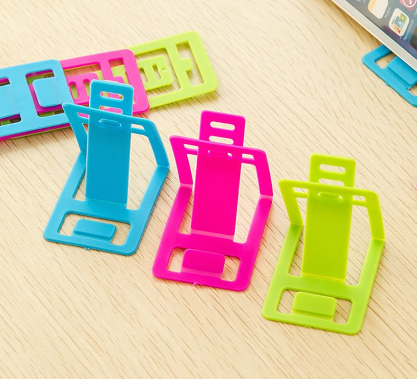 1pcs Mini Card Phone Holder For Iphone Mobile Phone Stand