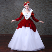 Victorian  Vintage Christmas Holiday Bustle Ball Gown Dress Theatre Clothing Victorian Party Costumes