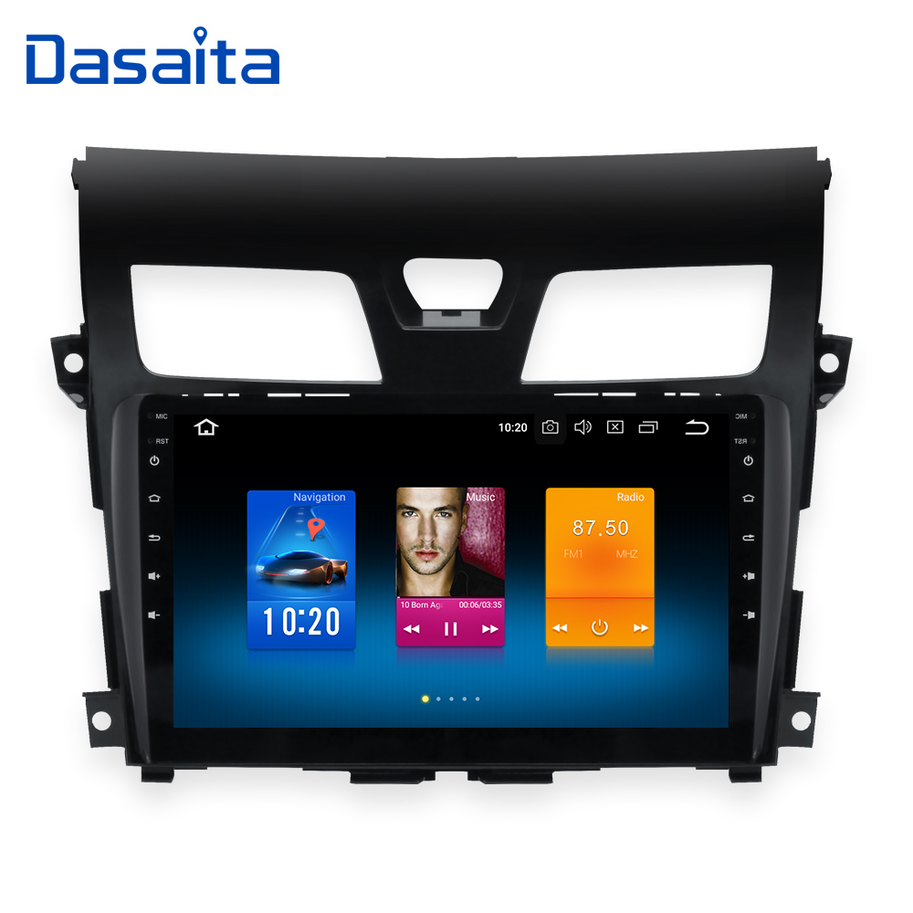 10.2 Android 8.0 voiture radio GPS pour nissan teana altima navigation dvd 2013 2014 2015 4g 32g volant contorl BT