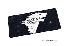Game of Thrones mouse pad 900x400mm pad to mouse notbook computer mousepad locked edge gaming padmouse gamer keyboard mouse mats