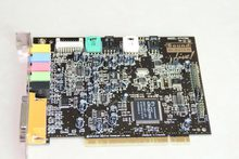 Original disassemble for Creative for SOUND BLASTER LIVE CT4870 4.1 sound card working good motherboard(China)