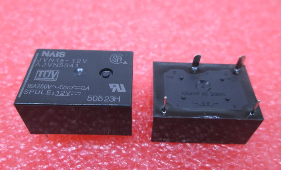 HOT NEW relay JVN1A-12V JVN1A12V 12V 12VDC DC12V NAIS DIP4 10PCS/LOT