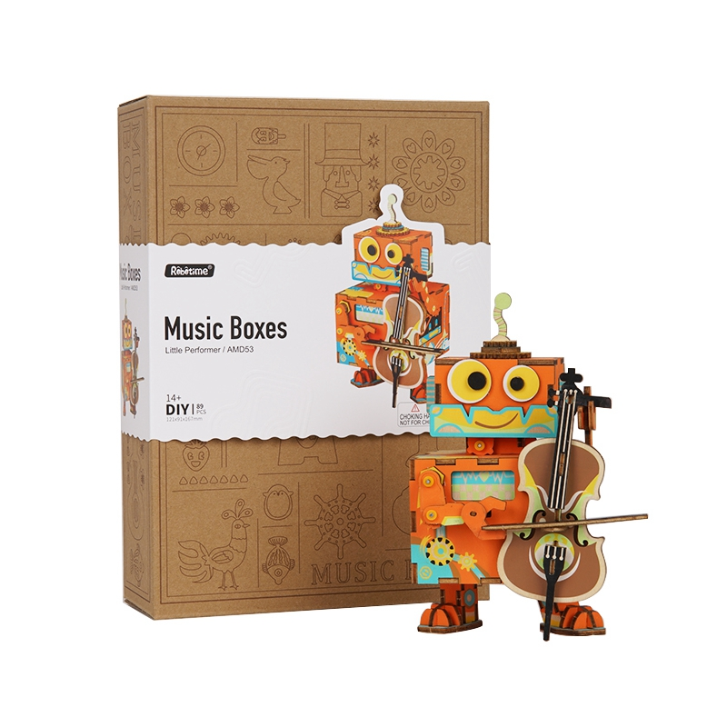 Robotime-DIY-3D-Little-Robot-Performer-Wooden-Puzzle-Game-Assembly-Moveable-Music-Box-Toy-Gift-for