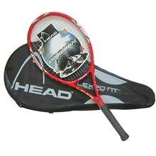 Equipado con Bolsa de alta Calidad De Fibra De Carbono Raqueta de Tenis Raquetas de Tenis Tamaño de la Empuñadura 4 1/4 raquetas de tenis Envío Gratis