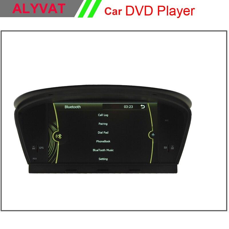 8 Car DVD GPS player for BMW 5 series E60 E61 E63 E64 BMW M5 2003 2004 2005 2006 2007 2008 2009 2010 Original car is with AUX montblanc
