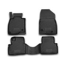 Коврики в салон для Mazda 3 BM (2013-2017) полиуретан (Novline-Autofamily CARMZD00031)
