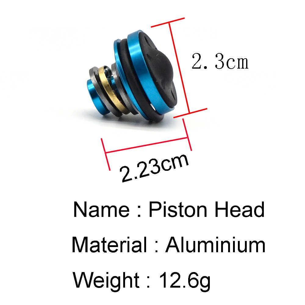 Stille Lager Piston Head voor Airsoft Versie 2/3 AEG M4 AK47/74 M16 MP5 G3 M249 AEG Paintball Air guns Jacht Accessoires