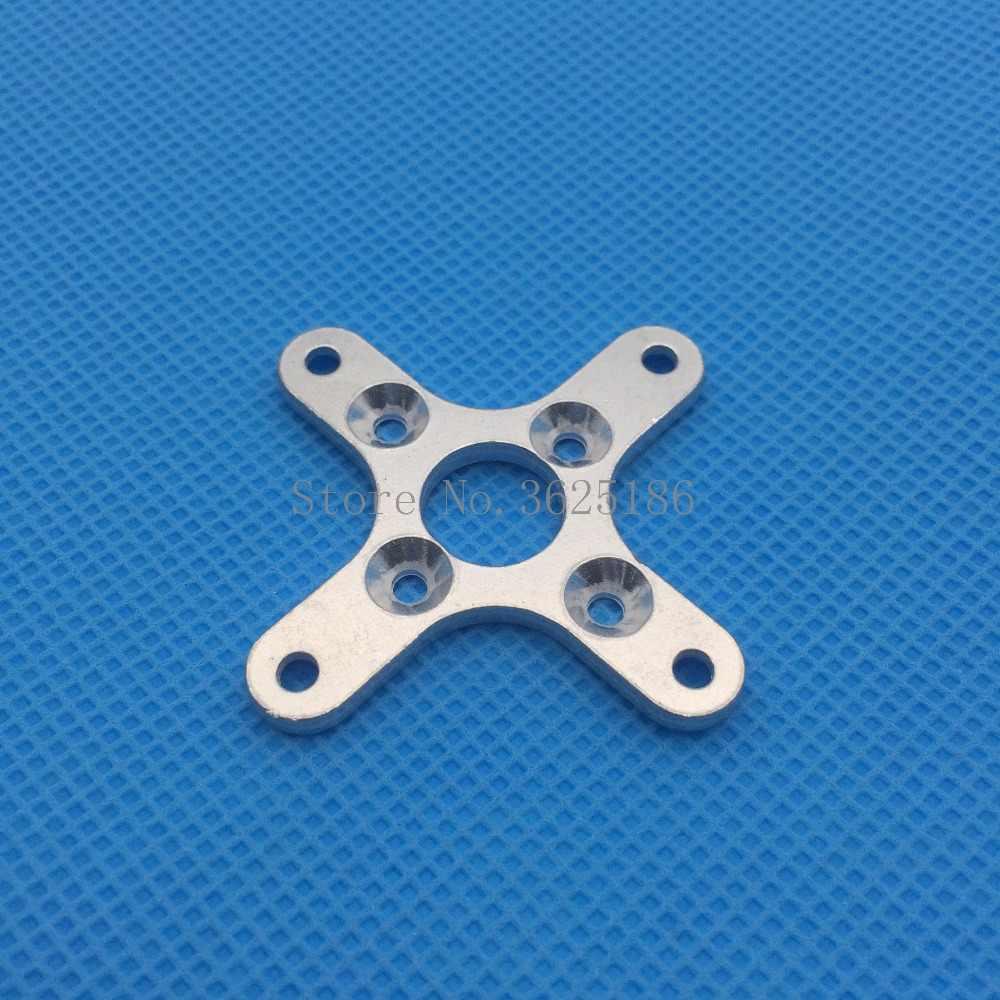 2 piezas 19*25 X tipo soporte de Cruz soporte para 2820 3648 sin escobillas Outrunner Motor RC