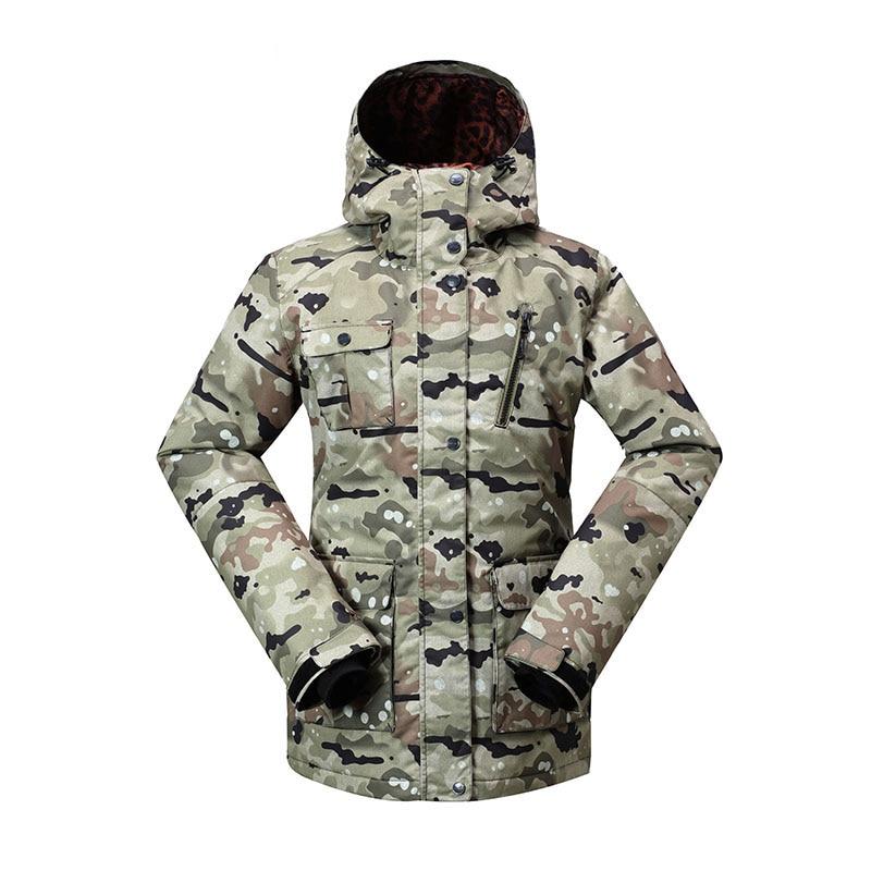 Жаңа Gsou Snow шаңғы курткалар әйелдер - Спорттық киім мен керек-жарақтар - фото 4