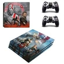 Game God of War PS4 Pro Skin Sticker Vinyl Decal Sticker