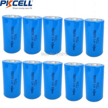 10pcs Li-SOCl2 26500 ER26500 3.6V 9000mAh C Size Non-rechargeable Battery 9A Batteria