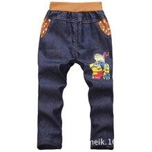 Retail 2016 kids pants baby boy clothes long trousers cartoon legging print children pant cotton long pants cool style 15A003