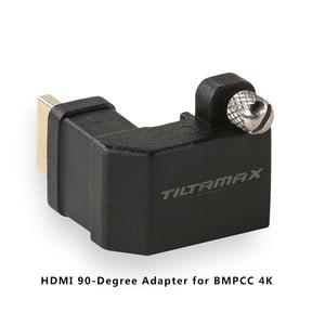 Image 5 - Tilta BMPCC 4k 6K 케이지 DSLR 카메라 (Sunho SSD 드라이브 홀더 포함) DC 전원 케이블 F970 배터리 플레이트 HDMI 어댑터 VS Smallring