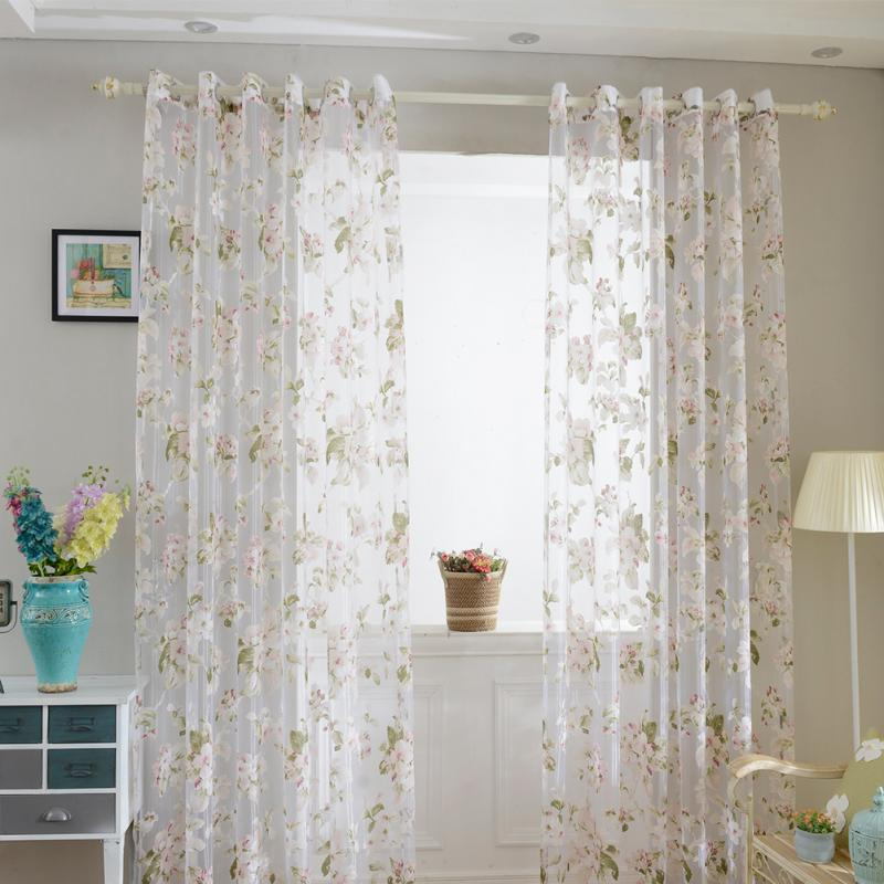 Sheer Curtains For Living Room India   Flisol Home