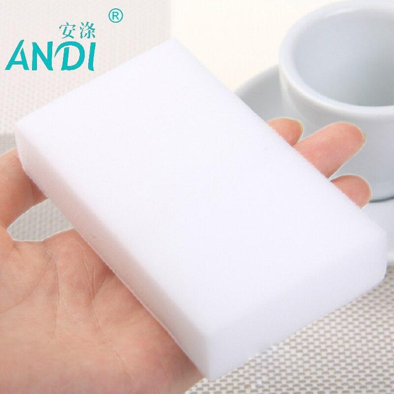 High Density Melamine Sponge Nona Magic Sponge Eraser Dish Cleaner for Kitchen Office Bathroom Cleaning 100pcs/40pcs/SDGRP/ANDI