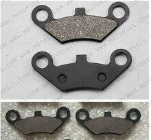 4PCS Front Brake Pad Semi metallic non asbestos for CFMoto CF500 500 500CC CF600 600 600CC X5 X6 X8 U5 ATV UTV Shineary
