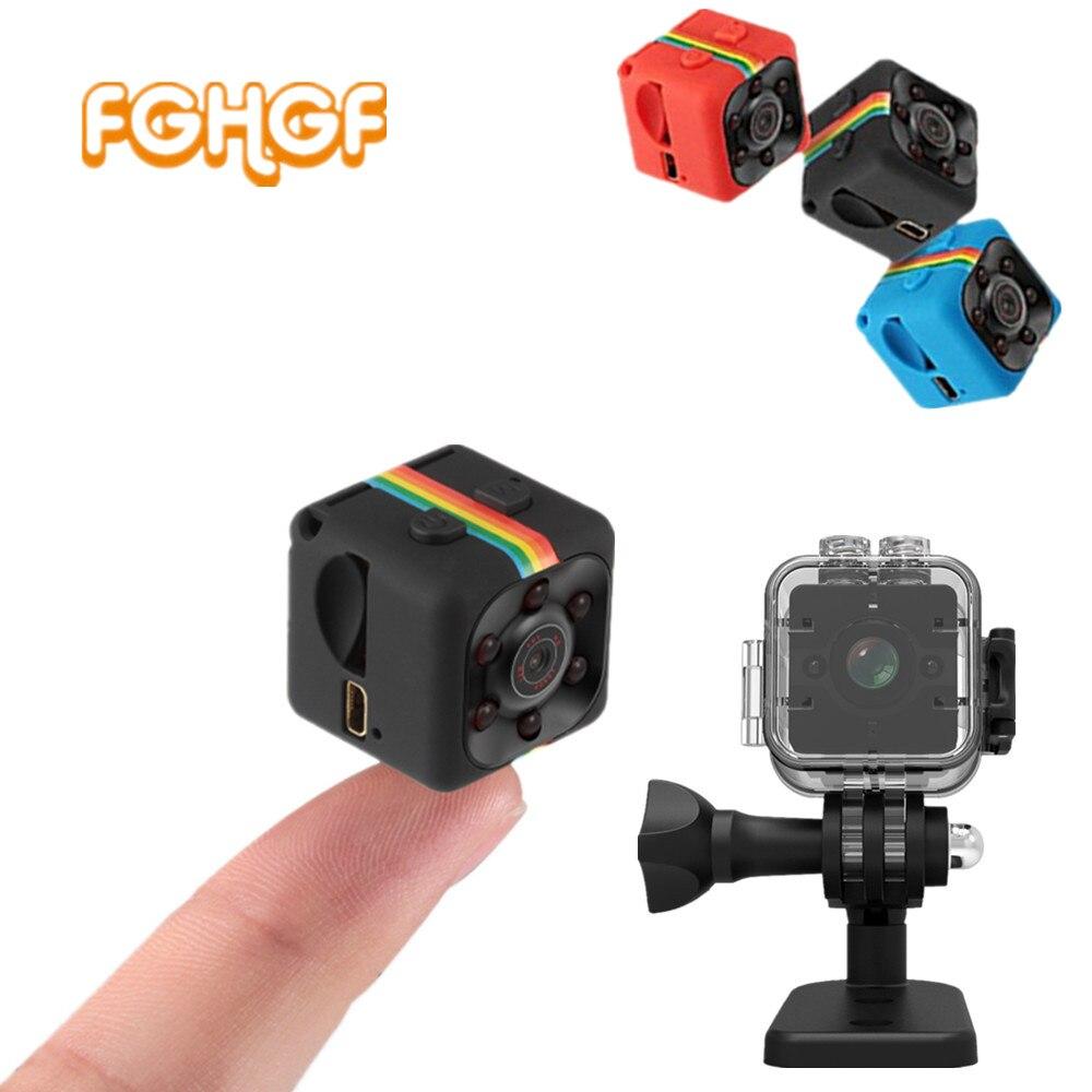 SQ11 HD 1080 p mini cámara cam SQ12 pequeña cámara CMOS Sensor de visión nocturna videocámara de la Cámara dvr videocámara de la cámara SQ 11