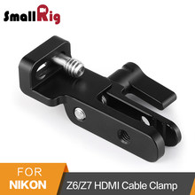SmallRig HDMI Cable Clamp for Nikon Z6/Z7 Camera L-Bracket L Plate HDMI Cable Protection Clamp Mount -2259(China)