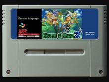 16Bit เกม ** SEIKEN DENSETSU 3   Secret of Mana 2 (เยอรมันรุ่น PAL!! ภาษาเยอรมัน!!)