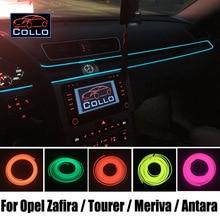 Для Opel Zafira/Tourer/Meriva/Antara/9 м el Провода/салона романтическую атмосферу лампа /консоли декоративные полосы