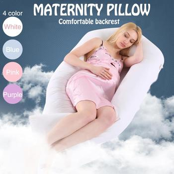 Multi-Functional Pregnant Women Comfortable U-Shape Cushion Long Side Sleeping Maternity Pillows Pregnancy Pillow Bedding Pillow